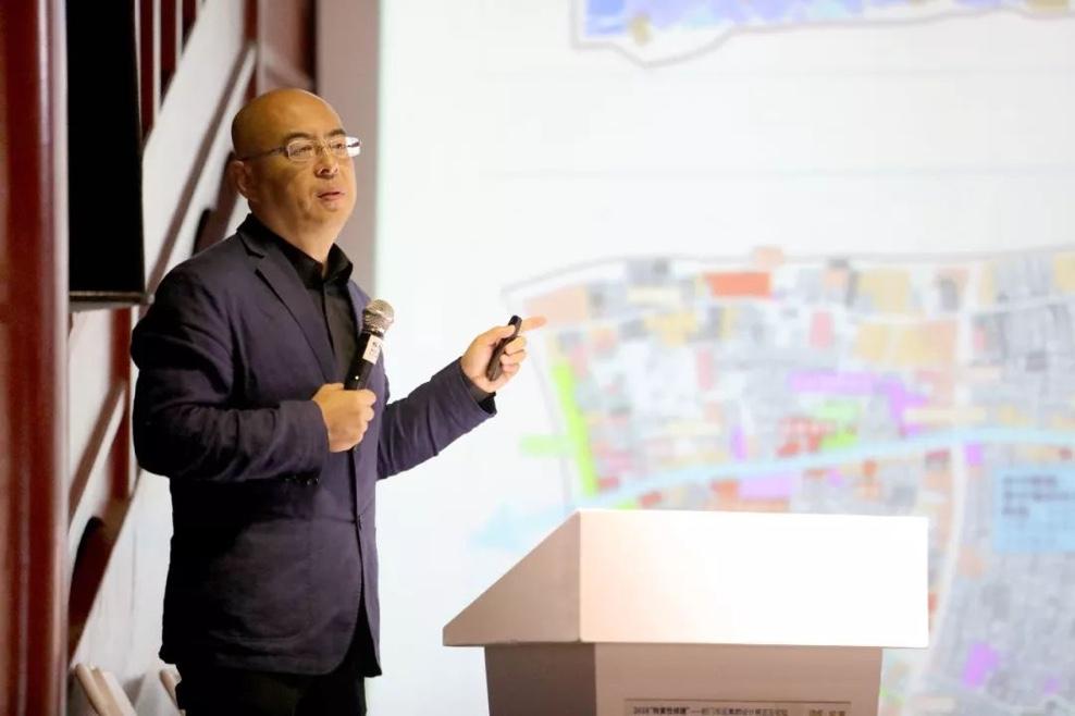 北京市建筑设计研究院有限公司总建筑师 朱小地《前门东地区恢复性修建的研究与实践》