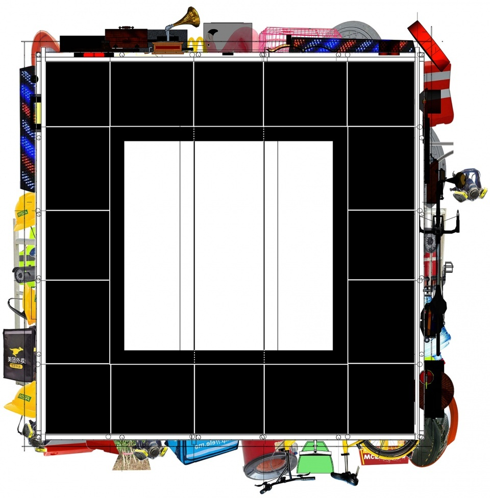 装置平面图,plan